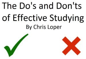 the dos and donts of effective studying title image
