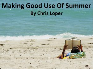 summer title image