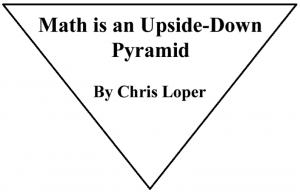 math pyramid title